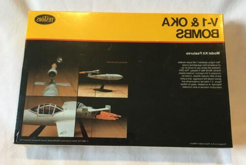 Testors V-1 Jet Bomb & Japanese OKA Kit Sealed