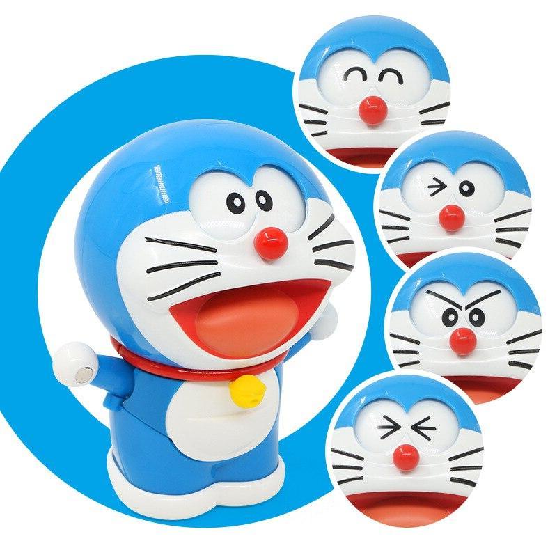 Anime Figures Robot Face/Eyes Changeable <font><b>Model</b></font> <font><b>Kits</b></font> Action Figure Collection Kids