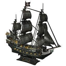 CubicFun Queen Anne's Revenge Pirate Ship Model Kit  3D Puzz