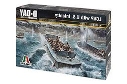 Italeri Models LCVP with U.S. Infantry D-Day Series Boat Mod