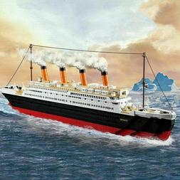 Lego game - Model building kits city Titanic RMS ship 3D blo