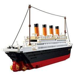 Lego Ship Titanic Building Blocks Model Set The Kit For Kids