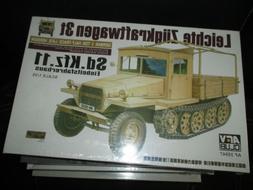 Leichte Zugkraftwagen 3t Sd.Kfz.11 1:35 AFV Club Model Kit 3