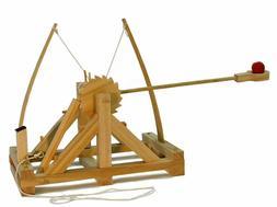 Pathfinders Leonardo Da Vinci Catapult Kit Wood Functional M