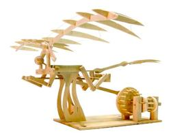 Pathfinders Leonardo DaVinci Ornithopter Wood Kit