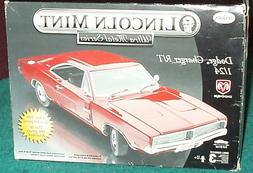 TESTORS/LINCOLN MINT DIECAST 1969 DODGE CHARGER RT RED MODEL