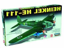 Lindberg Heinkel HE111 Military Aircraft Plane - Plastic Mod