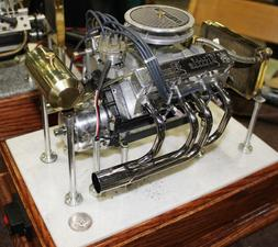 Little Demon Model Gas Engine V8 PLANS ONLY! You are not buy
