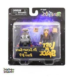 Lost in Space Minimates Dr. Zachary Smith & Robot B-9 Color