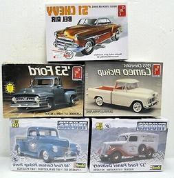 LOT  -  AMT/ERTL - REVELL 1/25 MODEL CAR / TRUCK KITS - NEW,