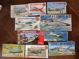 LOT of 10 Vintage Airfix Model AirPlane Kits 1/72 Douglas Br