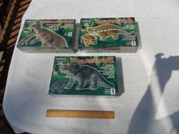 Lot of 3 different Lindberg Dinosaur plastic model kits all