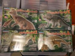 Lot of 4 Dinosaur  Model Kits by Lindberg Ankylosaur Dimetro