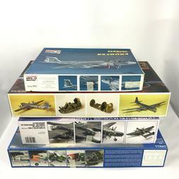 Lot of 4 New Model Plane Kits Revell Academy Minicraft C-54D