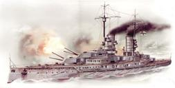 ICM Models Markgraf WWI German Battleship Building Kit