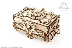 UGears Mechanical Models - Puzzle Kit Mechanical Antique Box
