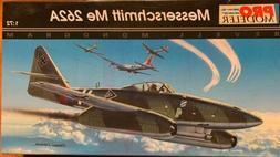 Pro Modeler Messerschmitt Me 262A 1:72 Model Plane Kit Monog