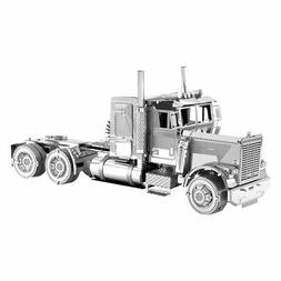 Fascinations Metal Earth Freightliner LONG NOSE TRUCK 3D Las