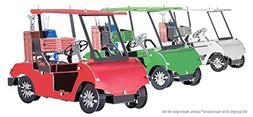 Metal Earth 3D Laser Cut Steel Model Kit 3 Colors Golf Carts