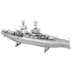 Fascinations Metal Earth 3D Laser Cut Steel Model Kit USS Ar