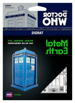 Fascinations Metal Earth Doctor Who Tardis 3D Laser Cut Stee