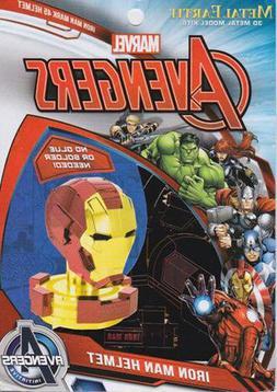 Fascinations Metal Earth Marvel Iron Man Helmet 3D Laser Cut