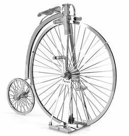 Fascinations Metal Earth High Wheel Bicycle 3D Laser Cut Ste