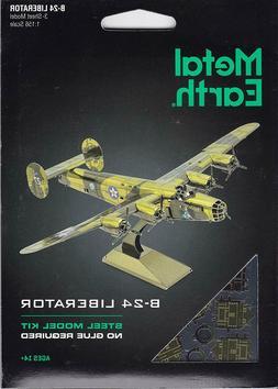 Fascinations Metal Earth 3D Model Kit - B-24 LIBERATOR Ameri