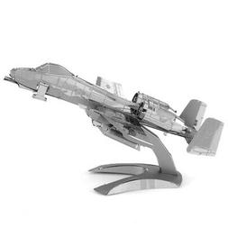 Fascinations Metal Earth A-10 Warthog Airplane 3D Metal Mode