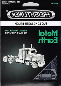 Fascinations Metal Earth Freightliner LONG NOSE TRUCK 3D Ste