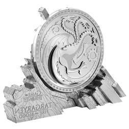 Fascinations Metal Earth ICONX Game of Thrones TARGARYEN SIG