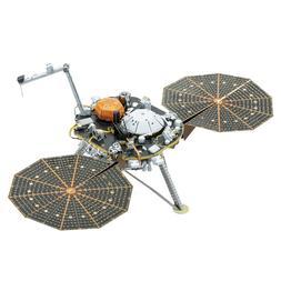 Fascinations Metal Earth InSight Mars Lander  3D Model Kit M