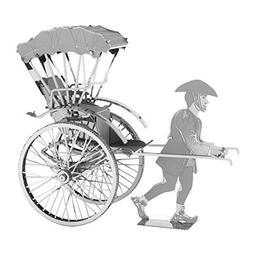 Fascinations Metal Earth Japanese Rickshaw 3D Metal Model Ki