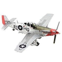Fascinations Metal Earth P-51D Mustang Sweet Arlene 3D Steel