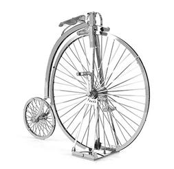 metal earth penny farthing
