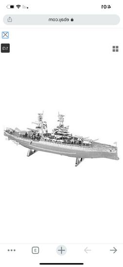 Fascinations Metal Earth USS Arizona Battleship 3D Laser Cut