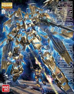 MG 1/100 Rx-0 Unicorn Gundam No.3 Phenex Gold Model kit F/S