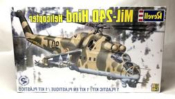 Revell Mil-24D Hind Helicopter 1:48 Scale Plastic Model Kit