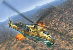 Mil Mi-24D Hind - 1/100 Revell Model Military Helicopters #4