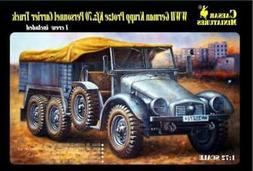 Military Model Kit - WWII German Krupp Protze Kfz.70 Personn