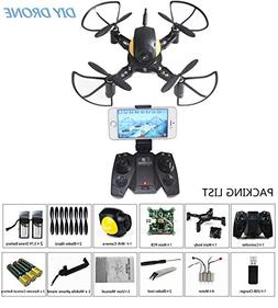 Go On Mini RC Toy Quadcopter Drone Set Building Kit With FPV
