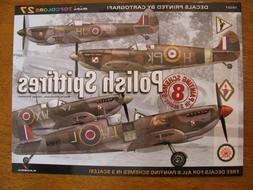 Kagero Mini Topcolors #27 Polish Spitfires Decals & Painting