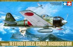 Tamiya Mitsubishi A6M3 Zero Fighter - 1/48 Scale Model Airpl
