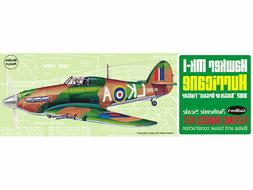 Model Airplane Kit, Flying, Guillow WWII British Hawker Mk1