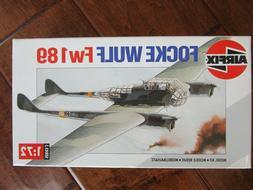 Airfix Model Kit #03053 FOCKE-WULF FW 189 1:72 Scale New In
