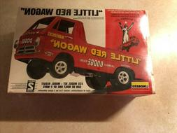 "Lindberg Model Kit 1/25 ""Little Red Wagon"" 1993 Edition Fact"