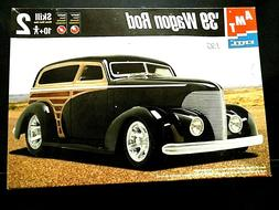 "Model Kit 1939 ""Wagon"" Hot Rod AMT 1:25"