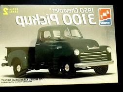 Model Kit 1950 Chevrolet 3100 Pickup Truck AMT 1:25