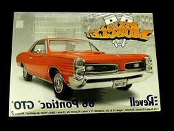 model kit 1966 pontiac gto 1 25