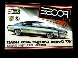 Model Kit 1967 Dodge Charger 426 Heni Foose Design Revell 1: